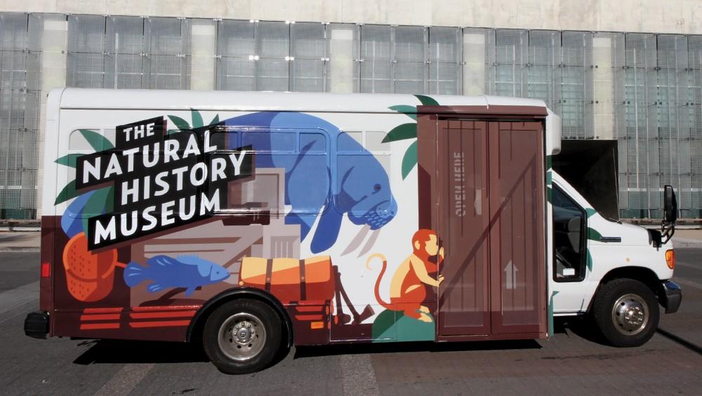 Natural History Museum van